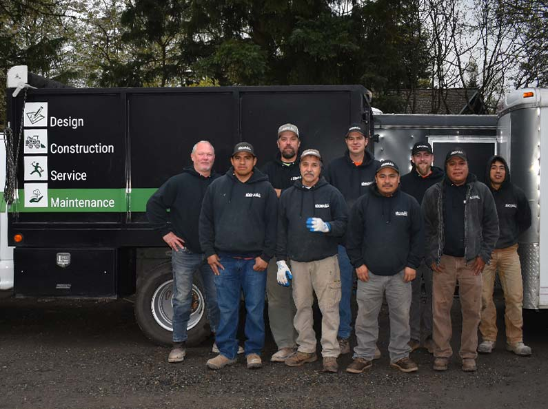 Meet the Construction Team at Olympic Landscape LLC