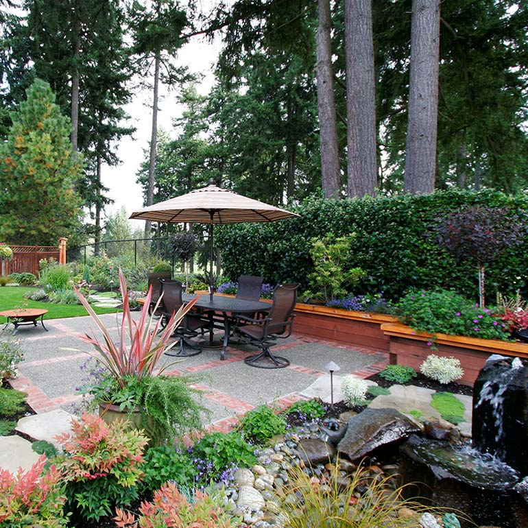 Fife, WA Landscape Design, Construction, Service and Maintenance - by Olympic