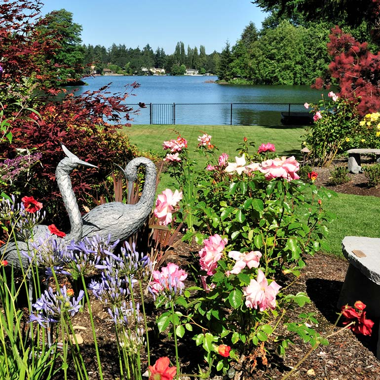 Garden Accents Service and Landscape Design Ideas by Olympic Landscape LLC - serving Tacoma, WA and Puget Sound
