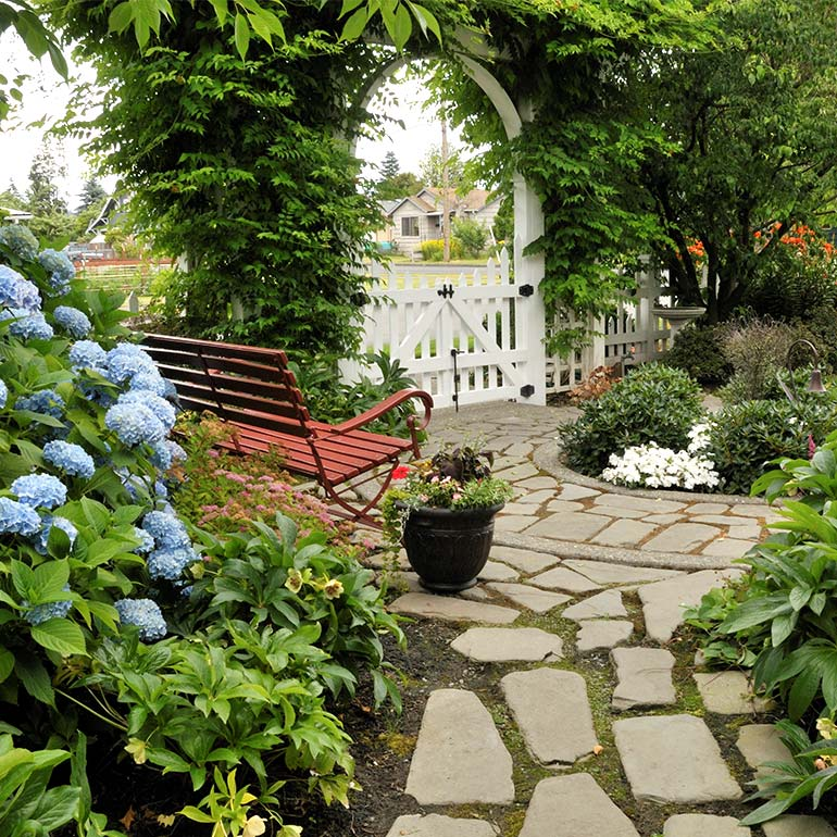 Garden Structures and Architectural Landscaping by Olympic Landscape LLC - serving Tacoma, WA and Puget Sound