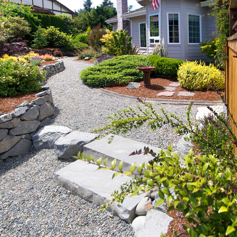 Lake Tapps Landscaping Design by Olympic Landscape LLC - serving Bonney Lake, Enumclaw, Buckley and the Puget Sound