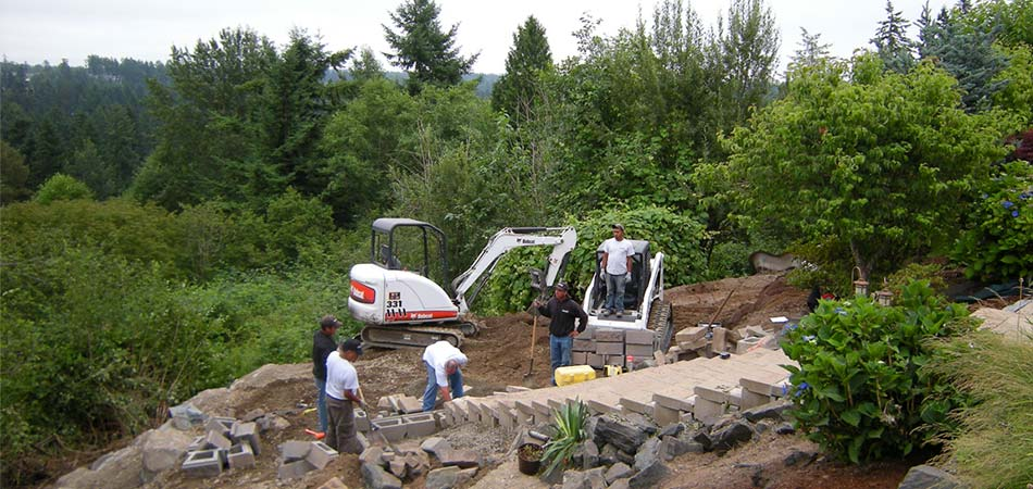 Landscape construction job opportunities with Olympic in Puyallup, WA and serving all of Puget Sound.