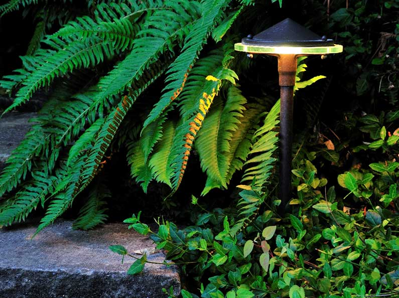 Having outdoor lighting installed by Olympic Landscape can increase security and safety.