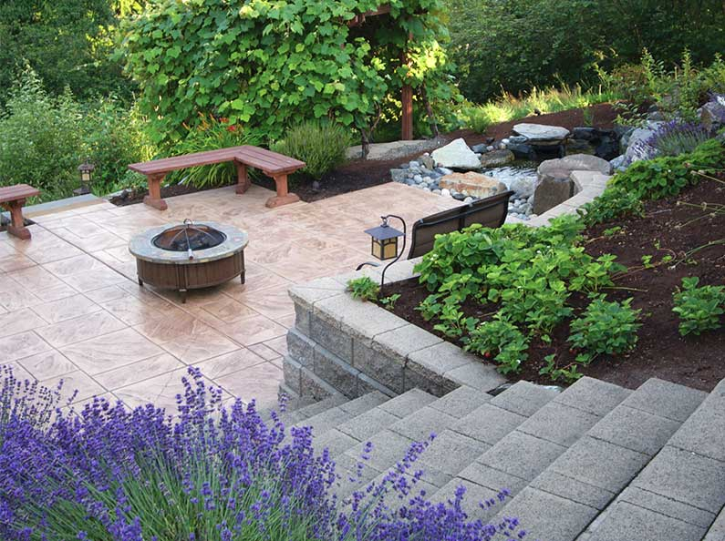 Enhance your landscape design with special outdoor structures.