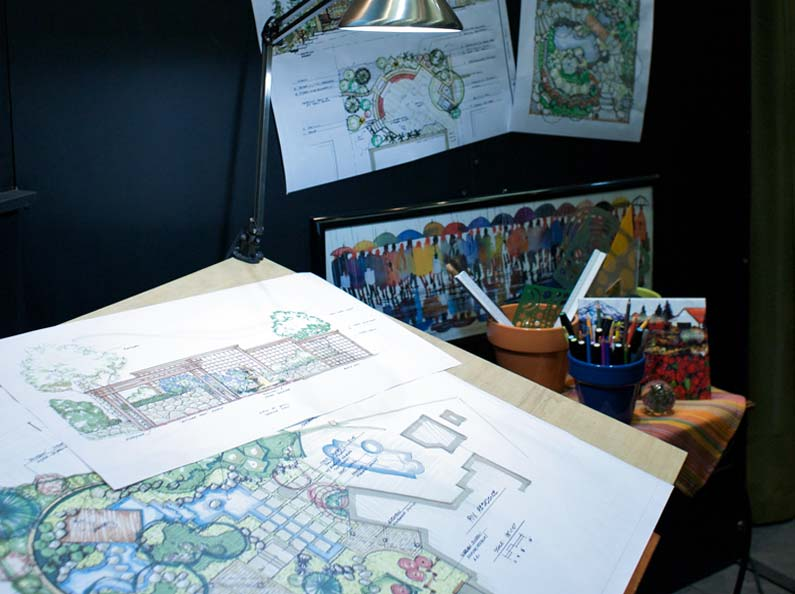 Olympic's talented and seasoned team will create a landscape design plan that fits your requirements.