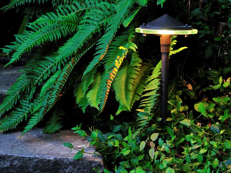 Add artistic effects and additional security to your property with outdoor lighting.