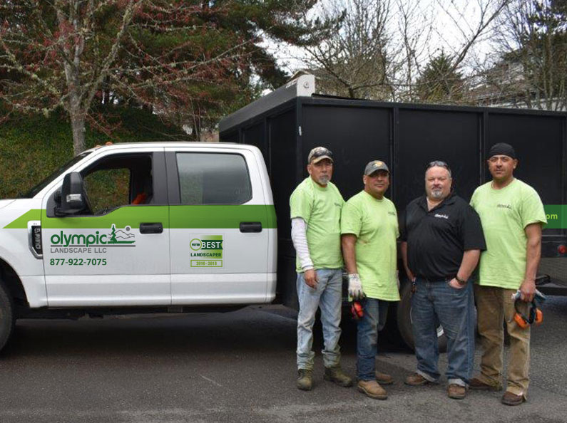 The Maintenance Team at Olympic Landscape LLC