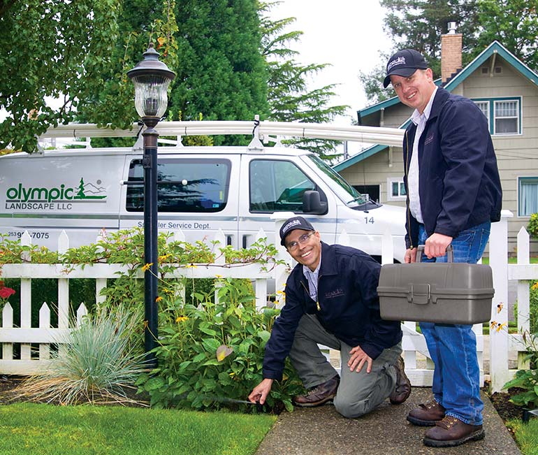 Olympic Landscape Service Department - serving Tacoma, WA and all of Puget Sound