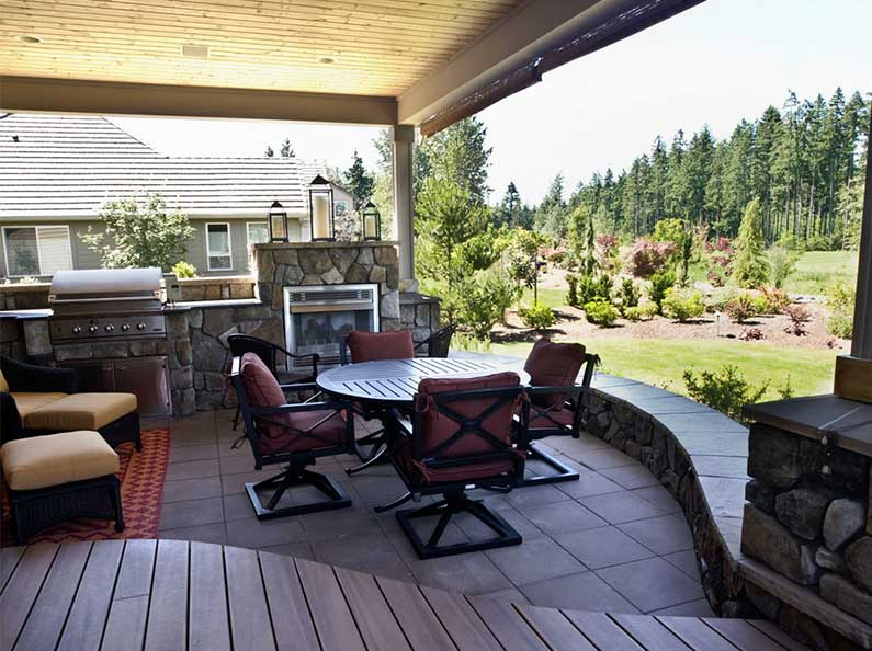 Outdoor rooms increase your living space, and can make spending time outdoors more relaxing and enjoyable.