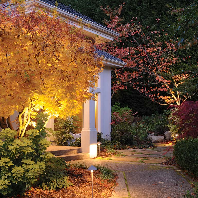 Outdoor Lighting Design, Installation and Service by Olympic Landscape LLC, Puget Sound