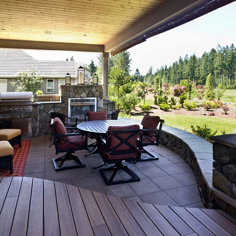 Outdoor Living Landscape Design Ideas by Olympic - serving Tacoma and Puget Sound WA
