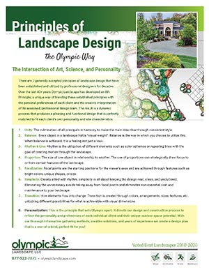 Principles of Landscape Design - The Olympic Way