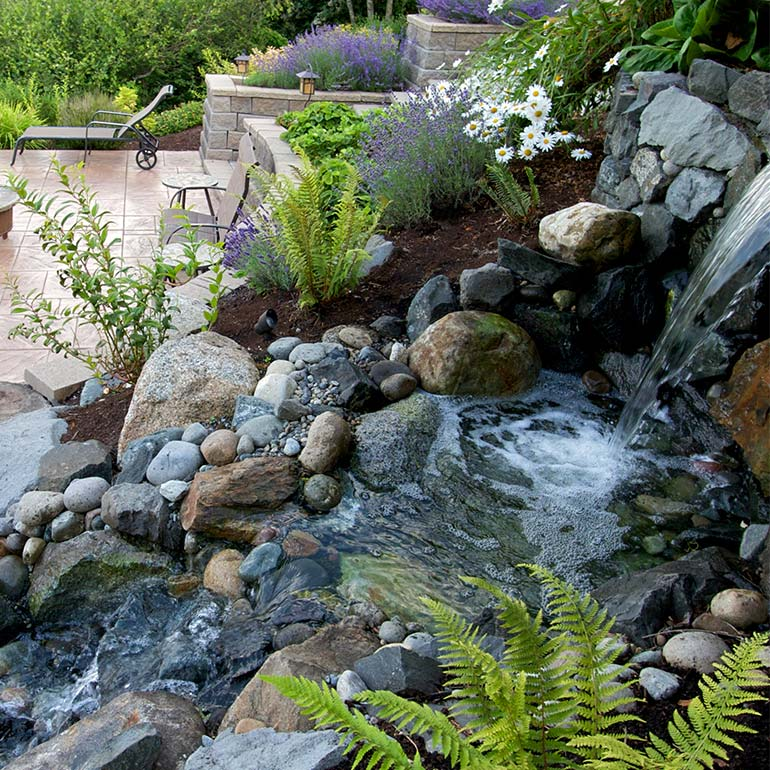 Puyallup, Sumner, Graham, WA Landscaping Design by Olympic Landscape LLC