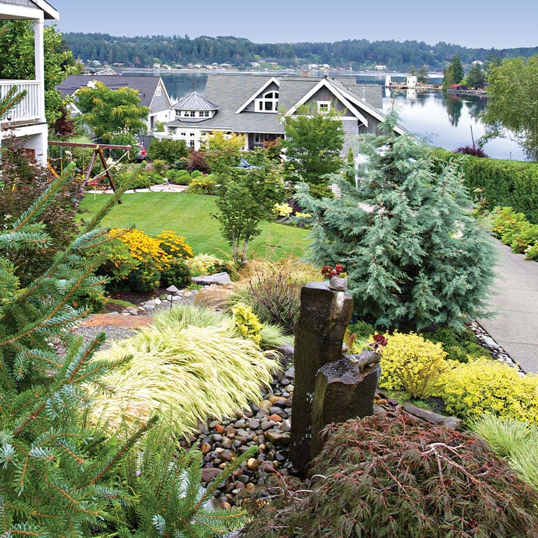 Renton, WA Landscaping Design by Olympic Landscape LLC