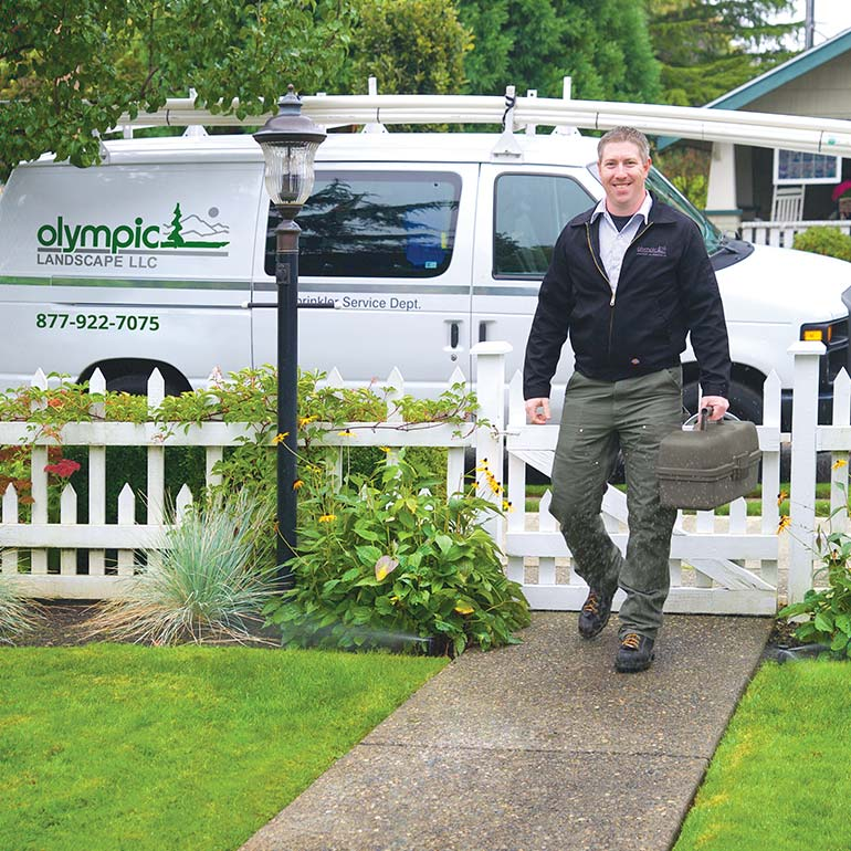 Request for Landscaping Service and Information - Olympic Landscape in Puyallup, WA