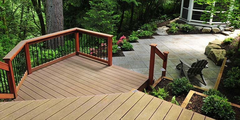 Decks, patios, walkways, walls, steps, arbors and wood structure design and construction.