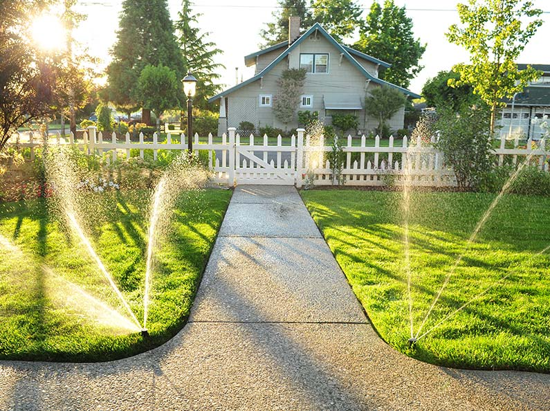 Sprinkler System Design: Olympic will develop a hydraulically correct design for your residential or commercial property.
