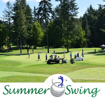 Gig Harbor Chamber Golf Tournament - Summer Swing at Canterwood Golf & Country Club in Gig Harbor, WA