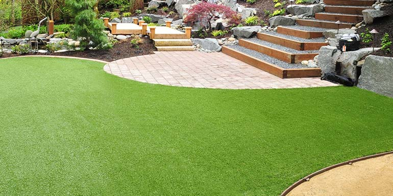 Synthetic Turf: Olympic Landscape Artificial Turf Installation and Service