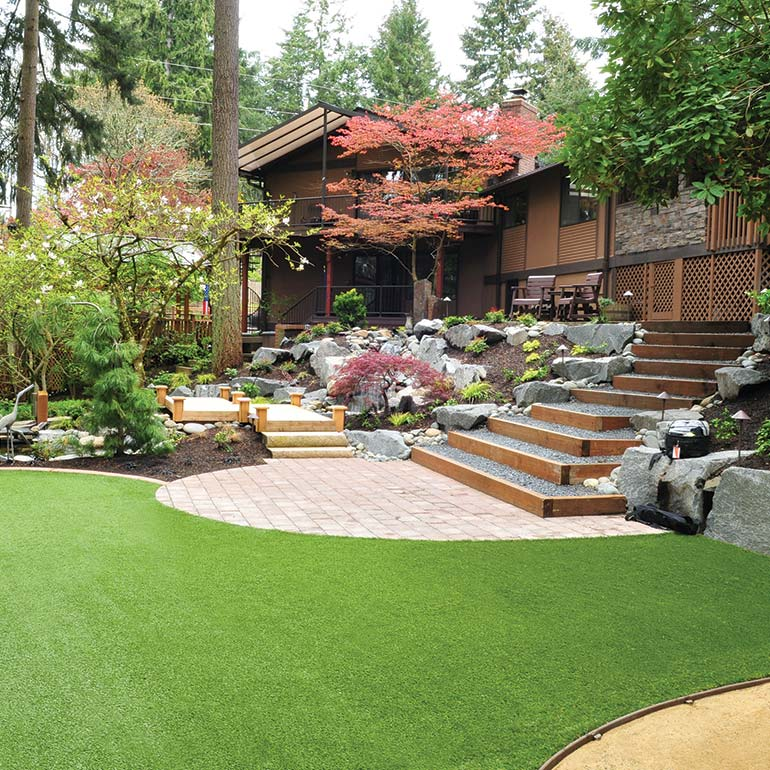 Synthetic turf design, installation and service by Olympic Landscape LLC, Puget Sound