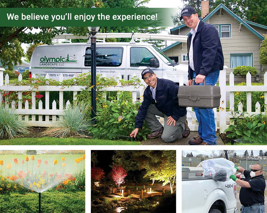 The Olympic Way Landscaping Services