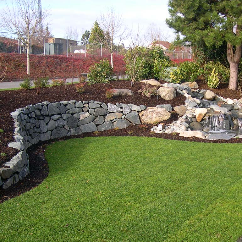 Walls and Stone Work by Olympic Landscape LLC - serving Tacoma and Puget Sound WA