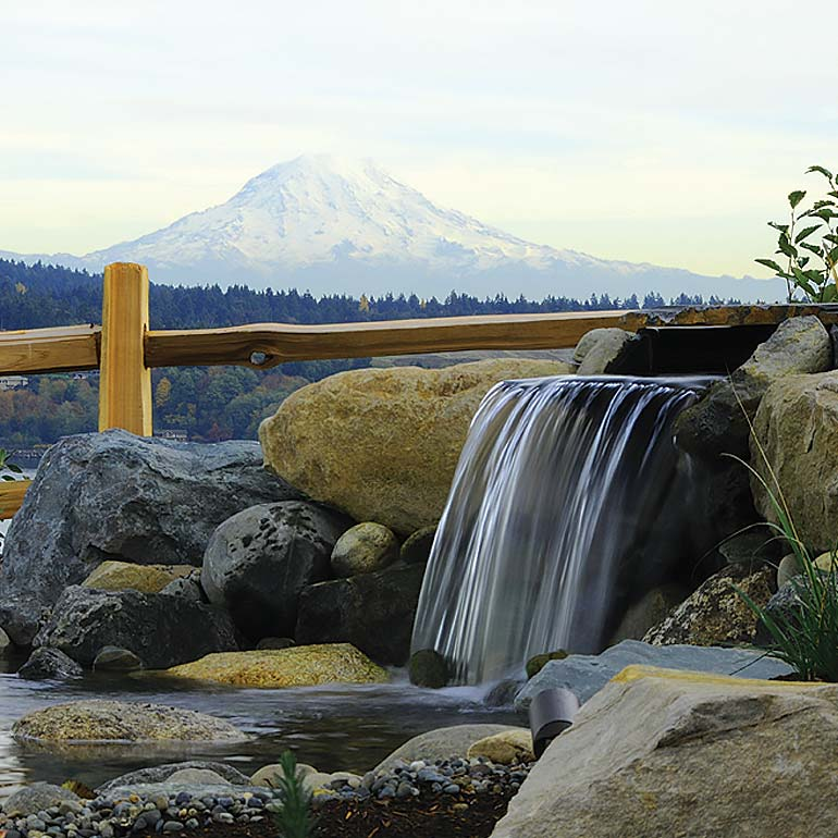 Water Features - Design and Installation by Olympic Landscape LLC, Puget Sound