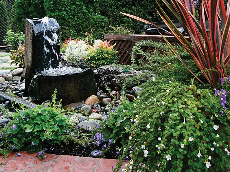 Love waterfalls and fountains? Olympic can create the perfect water feature accent for your outdoor space!